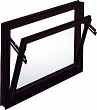 ACO 1x1 m Nebenraumfenster Einfachglas Kippflügel