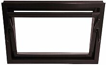 ACO 80cm Nebenraumfenster Kippfenster Einfachglas