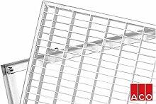 ACO versch. Größen Schuhabstreifer Gitterrost mit Zarge MW 30/10mm, Größe Gitterroste :60 x 40 cm