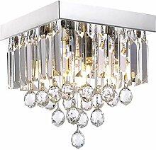 ACOC Kronleuchter Kristall Modern LED Deckenlampe
