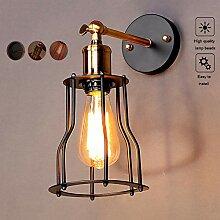 ACOC Wandlampe Vintage E27 Wandleuchte Rustikal