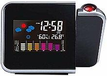 Acreny Digital Projektion Wecker -Uhr mit