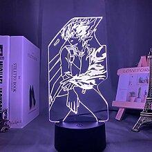 Acryl 3d Lampe Anime My Hero Academia Shoto