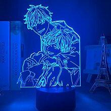 Acryl 3d Lampe BL Anime GEGEBEN Licht für
