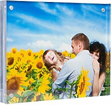 Acryl-Bilderrahmen 8x10 - Doppelseitiger