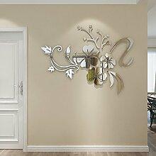 Acryl kreative Spiegel Blume Weinstock 3D Acryl