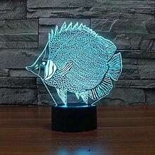 Acryl-Lampe, Fisch-Form, kreative