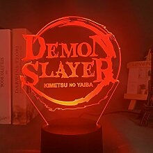 Acryl Led Nachtlicht Anime Demon Slayer Agatsuma