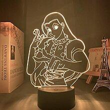 Acryl LED Nachtlicht Anime Hunter X Hunter