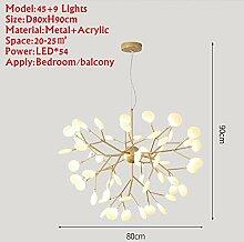 Acryl moderne led kronleuchter lampe für