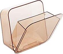 Acryl-Mülleimer mit Deckel, Komposteimer für