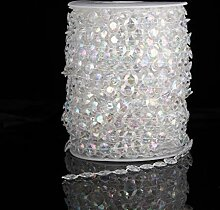 Acryl-Perlenvorhang für Hochzeit, Geburtstag,