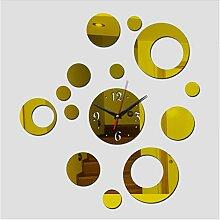 Acryl Spiegel Aufkleber Uhr Diy Wanduhr Uhren