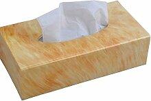 Acryl Tissue Box Wohnzimmer Papierkiste Serviette Karton Restaurant Pumping Kartons Rechteck ( Farbe : D )