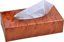 Acryl Tissue Box Wohnzimmer Papierkiste Serviette Karton Restaurant Pumping Kartons Rechteck ( Farbe : E )