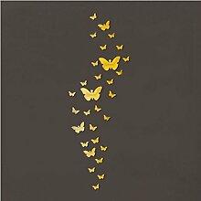 Acryl Wandaufkleber Schmetterlinge 3D