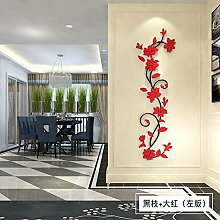 Acryl warmer Flower vine Dekoration Malerei Wand