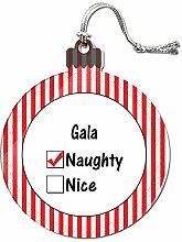 Acryl Weihnachtsbaum Dekoration Urlaub Naughty Namen weiblich ga-ge Gala