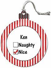 Acryl Weihnachtsbaum Dekoration Urlaub Nizza Namen männlich ka-ke Ken