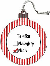 Acryl Weihnachtsbaum Dekoration Urlaub Nizza Namen weiblich ta-te Temika
