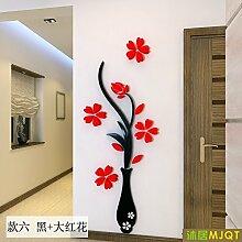 Acryl Zimmer 3D Esszimmer Wand aus dem Hintergrund