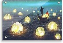 Acrylbild Fishing for Stars Modern