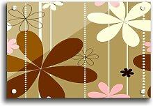 Acrylbild Gänseblümchenkette