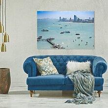 Acrylbild Hafen
