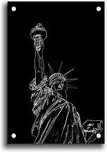 Acrylbild Liberty