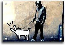 Acrylbild Revolution for Dogs von Banksy