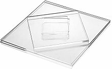 Acrylglas-Zuschnitt Quadratisch – 400x400 mm, 5
