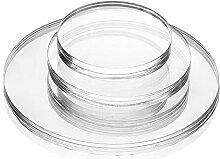 Acrylglas-Zuschnitt Rund – Ø 250 mm, 6 mm