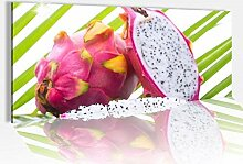 Acrylglasbild 100x40cm Drachenfrucht Obst Küche