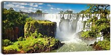 Acrylglasbild 10mm Panorama Nr. 228 Iguassufalls