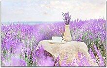Acrylglasbilder 80x50cm Blume Blumen Flieder lila