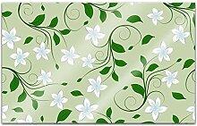 Acrylglasbilder 80x50cm Blume Muster Ornament