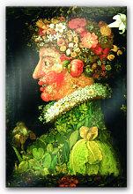 Acrylglasbilder - Acrylglasbild Arcimboldo - Der Frühling