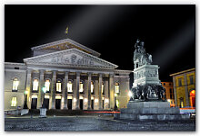 Acrylglasbilder - Acrylglasbild Bayerische Staatsoper München