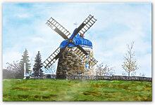 Acrylglasbilder - Acrylglasbild Toetzke - Traditionelle Windmühle
