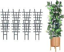 Actaday 8 Stück Rankhilfen für Kletterpflanzen,