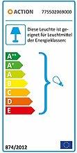 ACTION by WOFI TEXEL Deckenspots, Kunststoff, 56