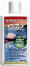 Activa Algenstopp gegen Fadenalgen und Schmieralgen im Gartenteich 500ml