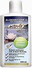 Activa Algenstopp gegen grünes Wasser im Gartenteich / Algenmittel gegen Schwebealgen 500ml