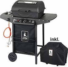 ACTIVA Grill Lavastein Gasgrill, Lavagrill