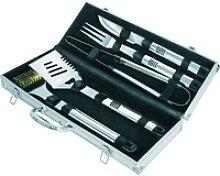 Activa Grillbesteck-Set aus Edelstahl mit Koffer