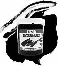 ACUALUX satiniert titan ½ LT–839blau cyan