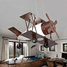 ACZZ Antique Aircraft Chandelier/Kinderzimmer