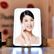 ACZZ Beleuchteter Kosmetikspiegel mit