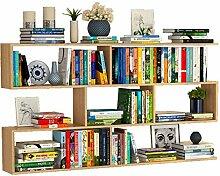 ACZZ Bücherregal Bücherregal Massivholz