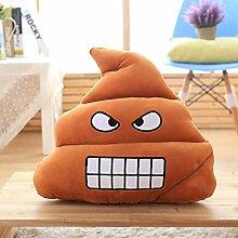 ACZZ Emoji Kissen Kissen, dekorative Kissen Big